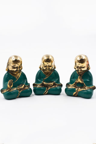 Aqua Bronze Buddha Bundle