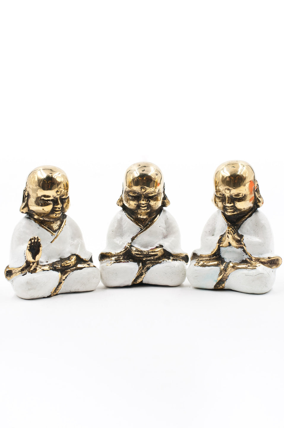 White Bronze Buddha Bundle