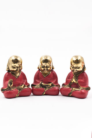 Coral Bronze Buddha Bundle