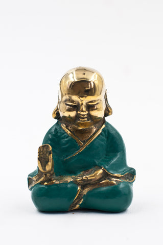 Aqua Bronze Buddha - Protection