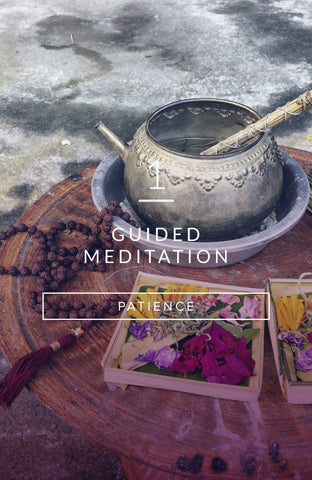 Guided Meditation: The Art of Patience