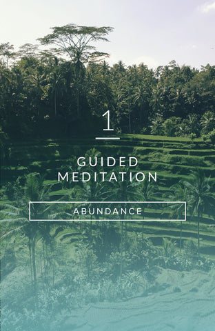 Guided Meditation: All About Abundance