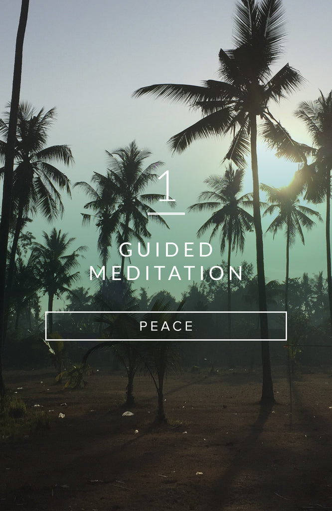 Guided Meditation: Cultivating Peace