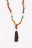 Rice Paddies Mala handmade in beautiful Bali.