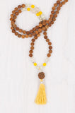 Frangipani Mala made in Bali by Mala Collective.