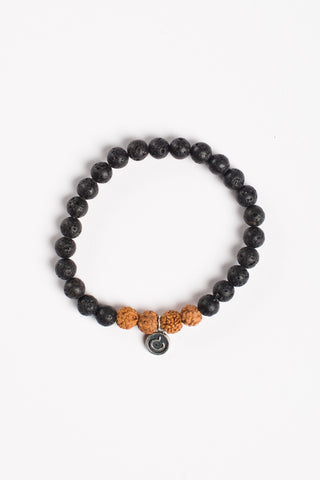 I Am Strong Bracelet - Rudraksha