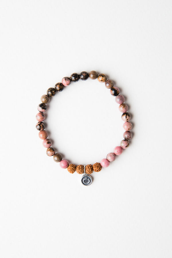I Am Beautiful Bracelet - Rudraksha