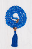 I Am Confident Mala made with 108 beads.
