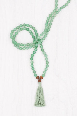 I Am Centered Mala for meditation and mindfulness.