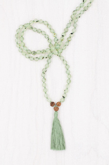 I Am Enlightened Mala for meditation and mindfulness.
