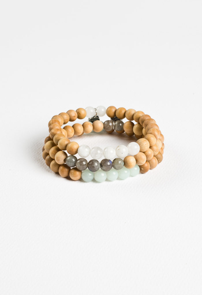 Manifest Inner Power Bracelet Stack
