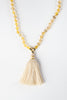 Luxe —  Citrine and Gold Mala (online exclusive)