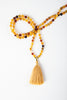 Luxe — Amber and Gold Mala (online exclusive)