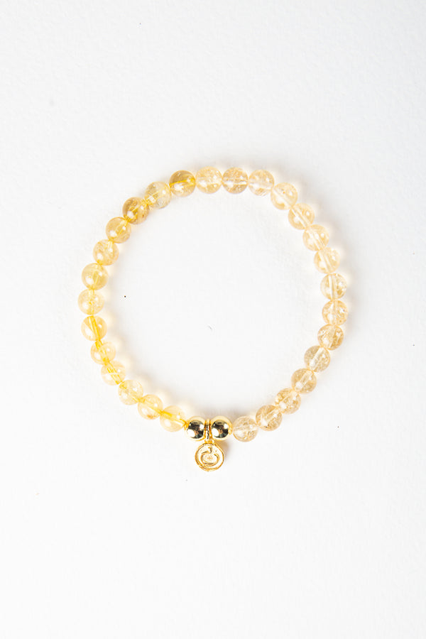Luxe — Citrine and Gold Bracelet (online exclusive)