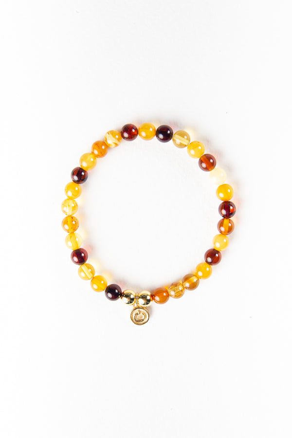 Luxe — Amber and Gold Bracelet (online exclusive)