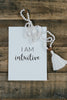 Affirmation Card — I Am Intuitive