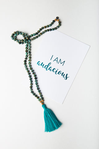 Affirmation Card – I Am Audacious