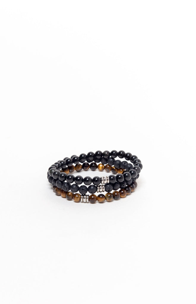 Peaceful Protector Bracelet Stack
