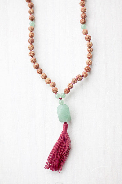 The Prana Mala represents the energy we have to live, breathe, dream and manifest our intentions.