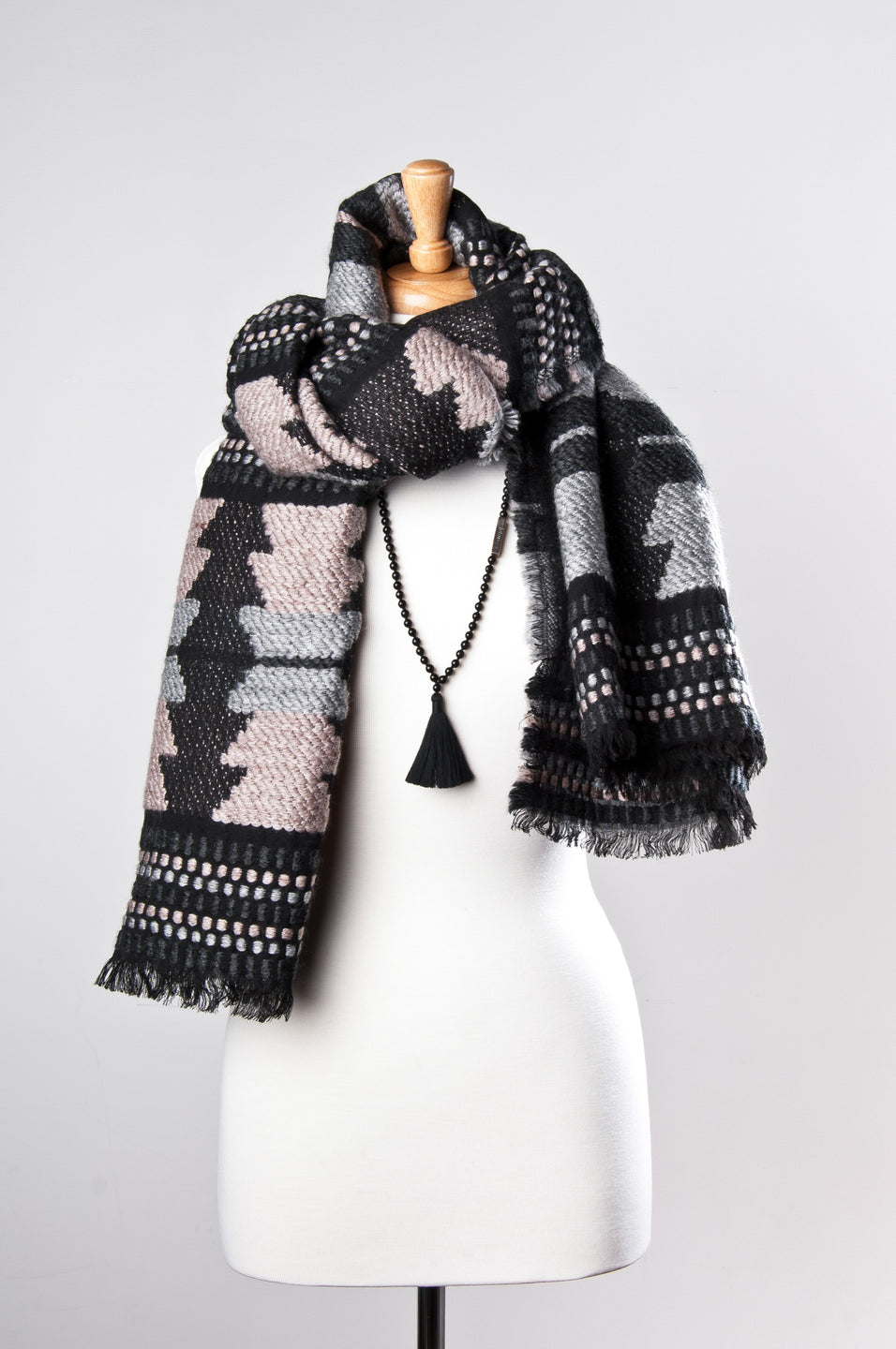 Embodying Consciousness - Citta Blanket Scarf