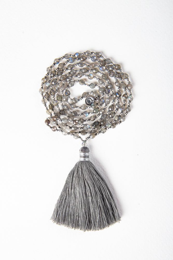 Be Here Now - Labradorite Mala