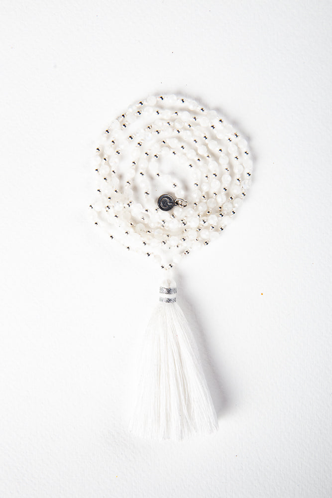 Be Here Now - Moonstone Mala