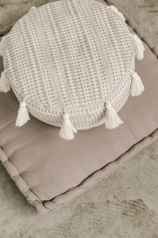 Mauve Tassel Meditation Cushion (Sit Set)