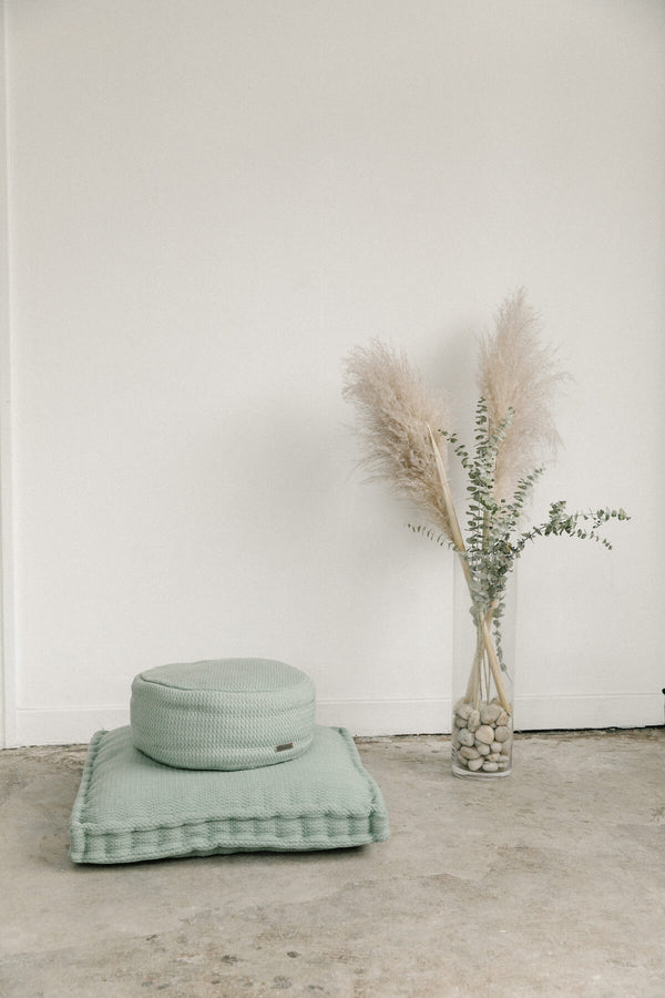 Sage Woven Meditation Cushion (Sit Set)