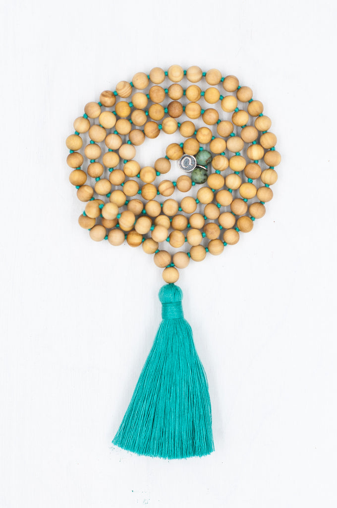Meditate Mala for mindfulness and meditation.