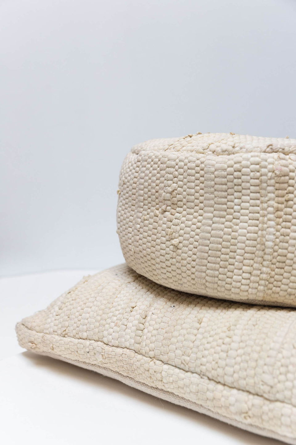 Meditation Cushion Round — Natural