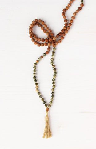 My Practice is Thriving Mala to remind us to be confident in our capabilities