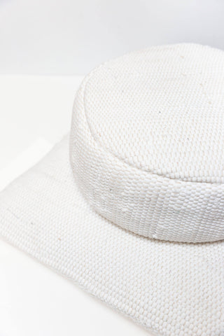 Meditation Cushion Round — White