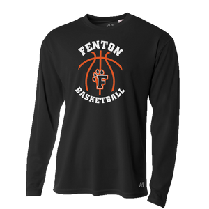 Fenton Baskeball - Dri-Fit LS T-shirt - Black