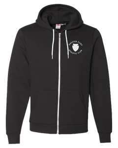 GFAC - Black - Unisex Flex Fleece Zip Hood