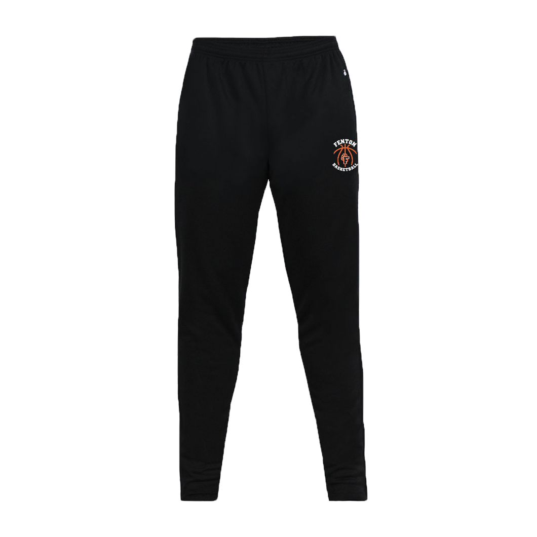 Fenton Basketball - Black Trainer Pant