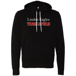 Linden T&F -Text Logo - Black Sponge Hoody