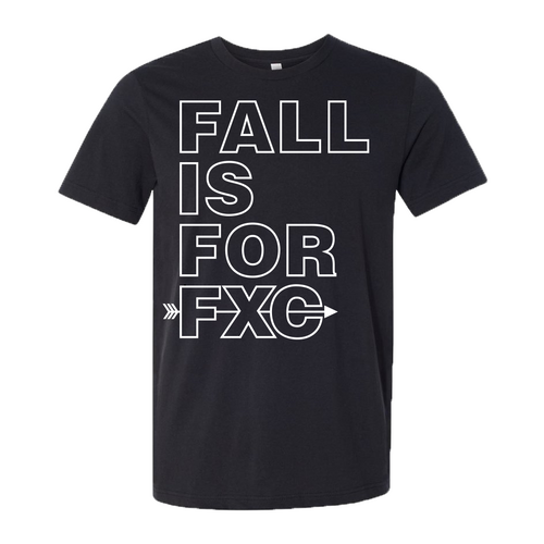 Fenton XC - Fall is For FXC - Jersey Tee - Black