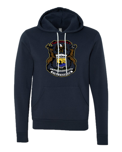 Michigan Coat of Arms Hooded Sweatshirt