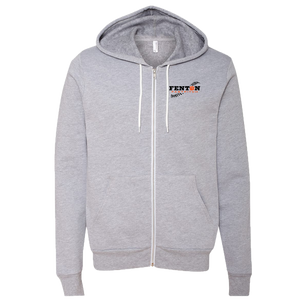 Fenton Fastpitch - Athletic Heather - Sponge Zip Hoody