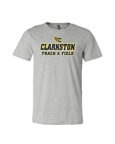Clarkston T&F Jersey Tee - Athletic Grey