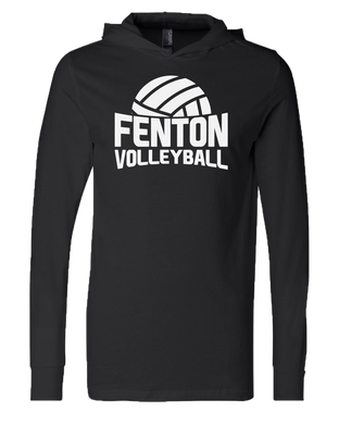 Fenton Volleyball - Unisex T-Shirt Hoody - Black
