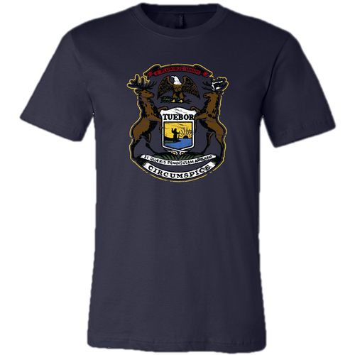 Michigan Coat of Arms T-shirt