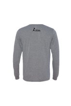 Load image into Gallery viewer, Mindful Flint Long Sleeve Triblend Tee - Grey