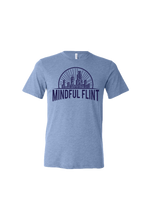 Load image into Gallery viewer, Mindful Flint Triblend Tee - Blue