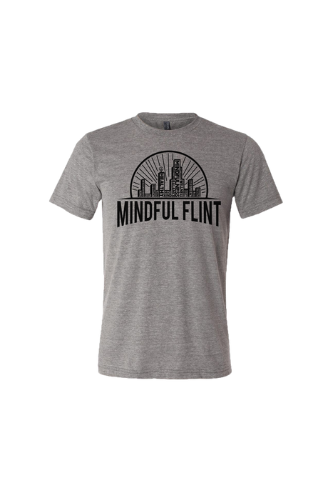 Mindful Flint Triblend Tee - Grey