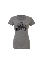 Load image into Gallery viewer, Women' Mindful Flint Triblend Tee - Grey