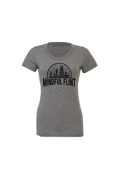 Women' Mindful Flint Triblend Tee - Grey