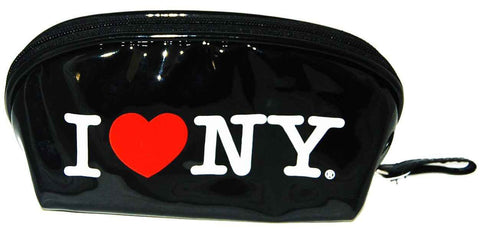I Love NY Black Cosmetic Bag