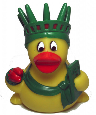 Statue of Liberty rubber duck