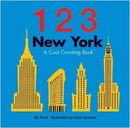 123 New York Board Book